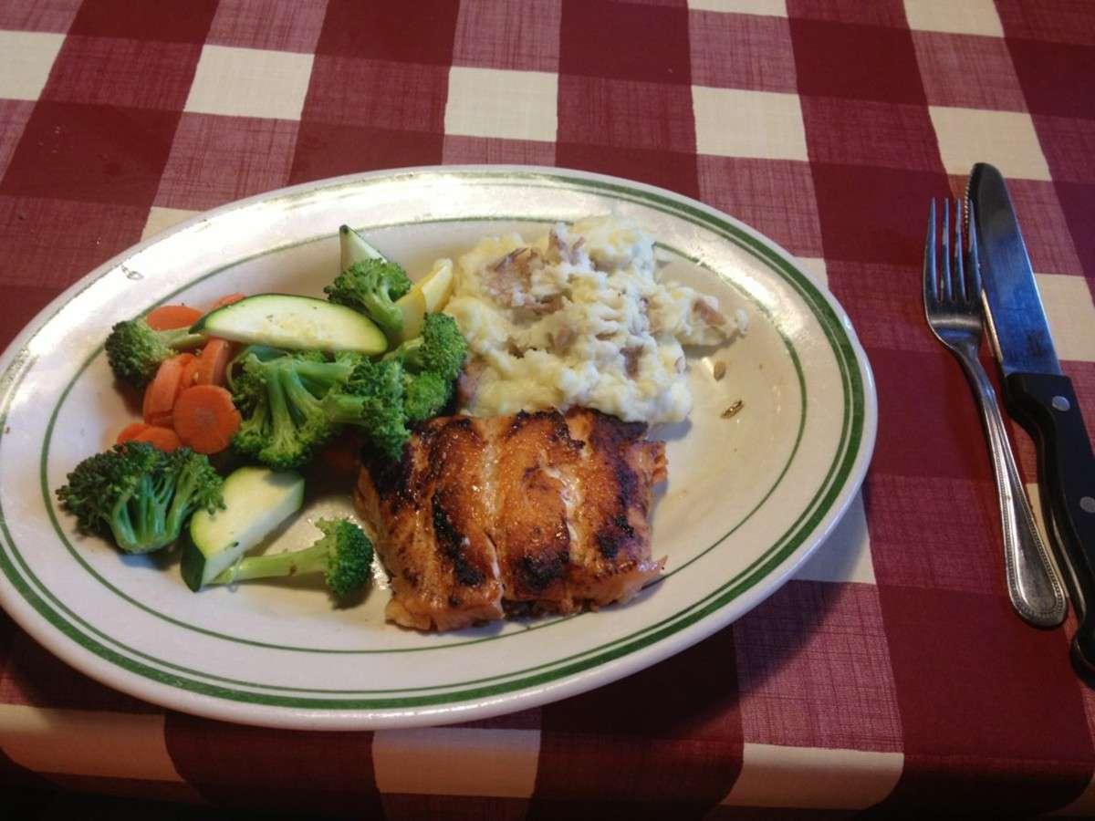 Menu Makanan di Restoran Bugaboo Creek Kanada